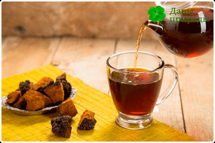 пью чай чаги
